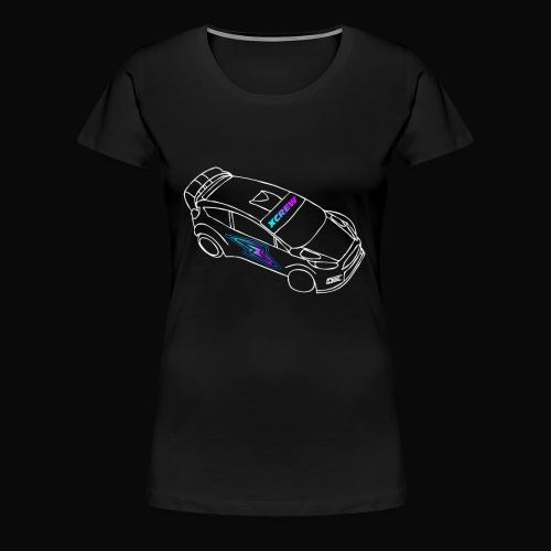 Let's Drift - Maglietta Premium da donna