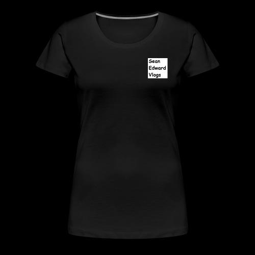 SeanEdwardVlogs VERSION 1 - Women's Premium T-Shirt