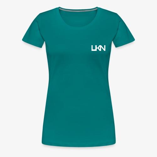 UKN Just White Text - Women's Premium T-Shirt