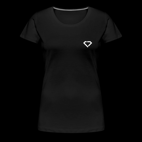 CRAZY DIAMOND LOGO - Frauen Premium T-Shirt