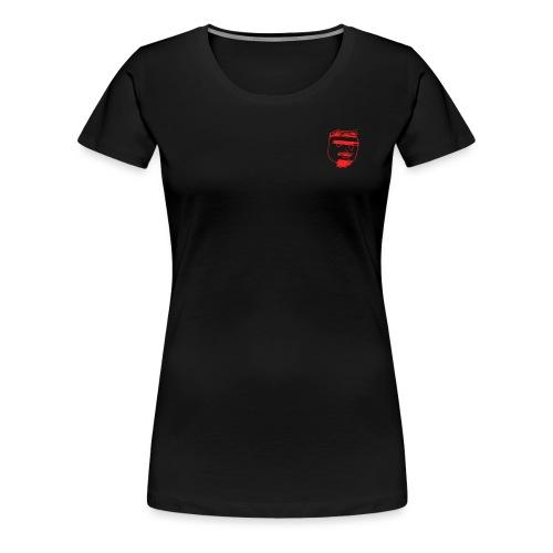 Ghemba stilizzato rosso - Maglietta Premium da donna