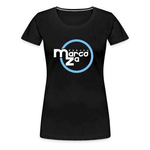 Logo White - DJ MARCOZA - Frauen Premium T-Shirt