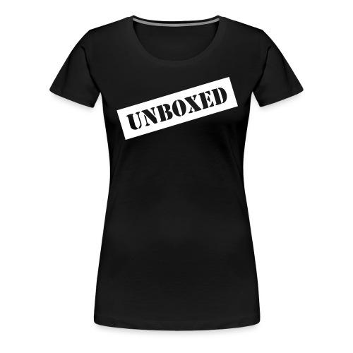 Get UNBOXED now!! by Brilliant Voices - Frauen Premium T-Shirt