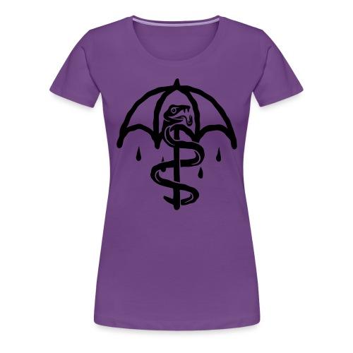 UMBRELLASNAKE - Camiseta premium mujer