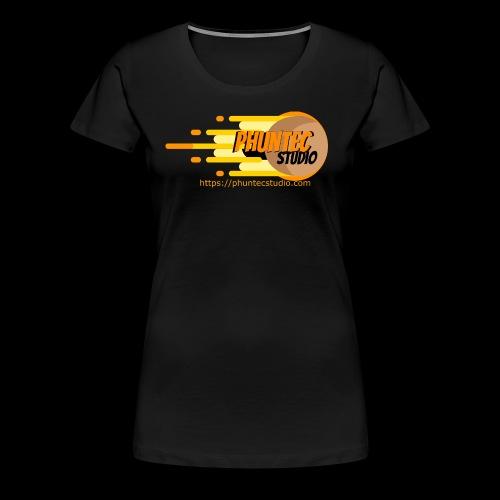 PhuntecStudio Logo - Women's Premium T-Shirt
