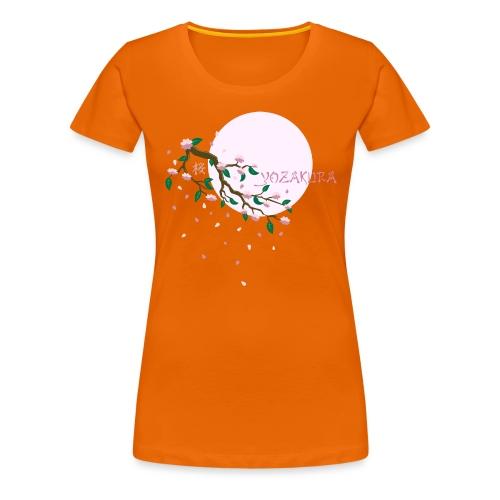 Cherry Blossom Festval Full Moon 1 - Frauen Premium T-Shirt
