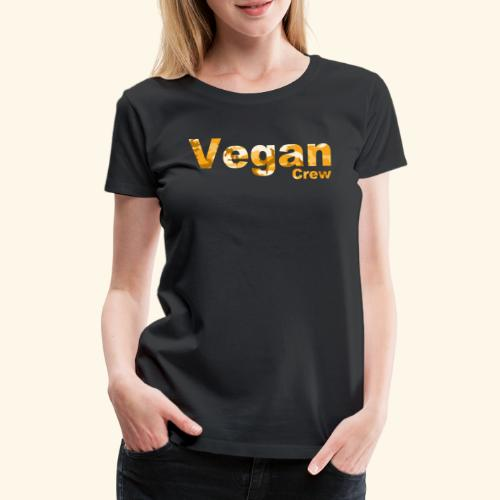 Orange Camo - Women's Premium T-Shirt