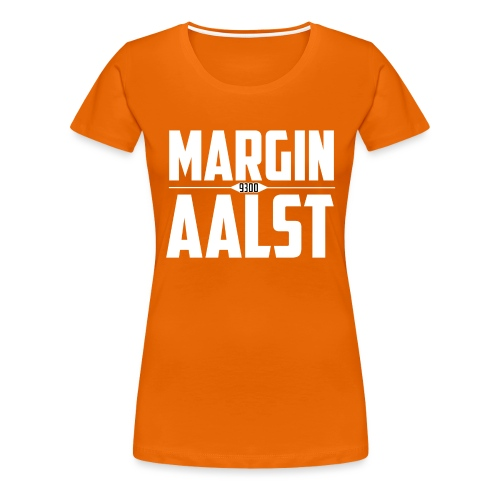 MARGINAALST wit - Vrouwen Premium T-shirt