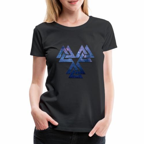 Valknut - Naisten premium t-paita