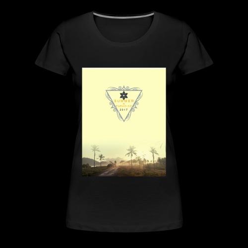 For the summer 2017 - Women's Premium T-Shirt