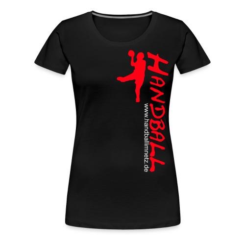 HIN Werfer Rot Weiss - Frauen Premium T-Shirt