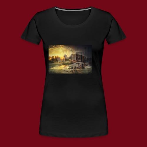 Landhaus - Frauen Premium T-Shirt