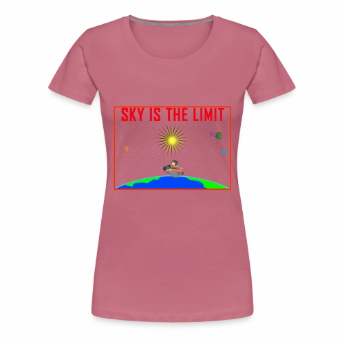 Sky is the limit - Women's Premium T-Shirt