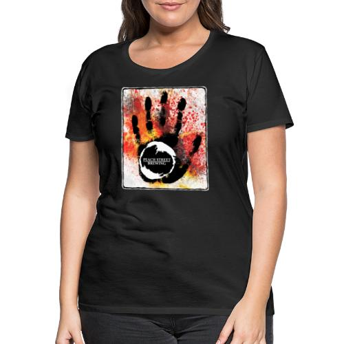 Abstrakt brewhouse dreams - Premium-T-shirt dam