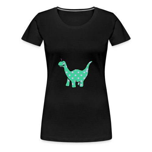 Sweet Uni-Dino - T-shirt Premium Femme