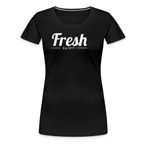 white logo - Women's Premium T-Shirt