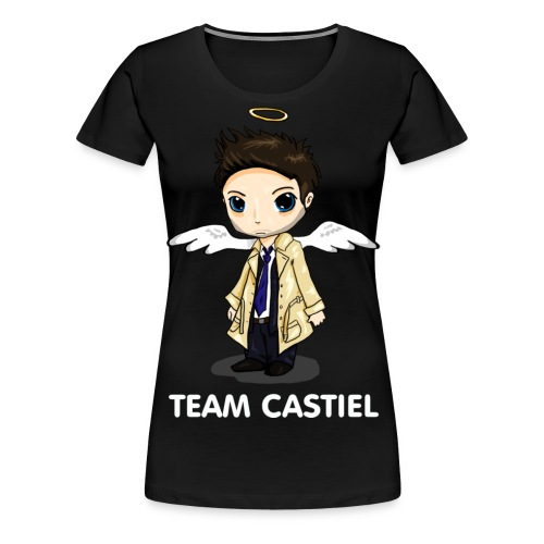 Team Castiel (dark) - Women's Premium T-Shirt