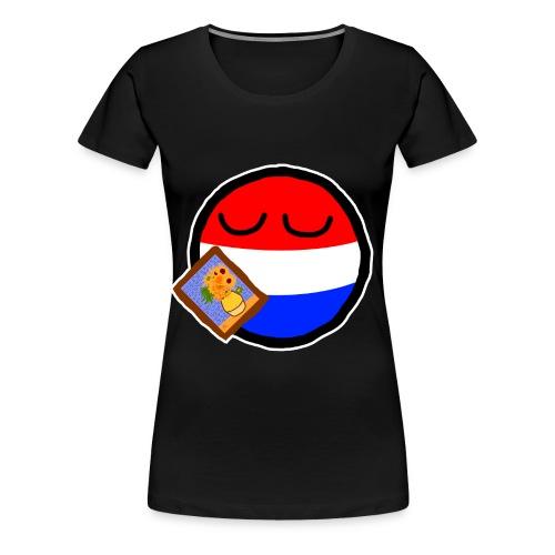 Netherlandsball - Women's Premium T-Shirt