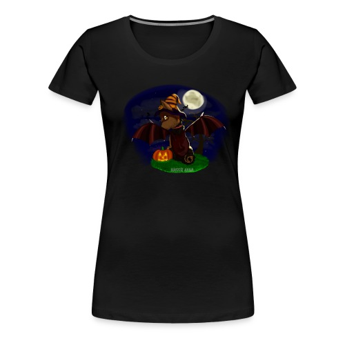 Mindy pumpkin witch - Women's Premium T-Shirt