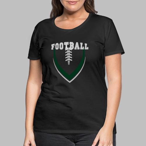 Football LOGO Ball American Football Geschenkidee - Frauen Premium T-Shirt