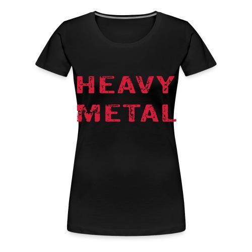 Heavy Metal - Premium-T-shirt dam