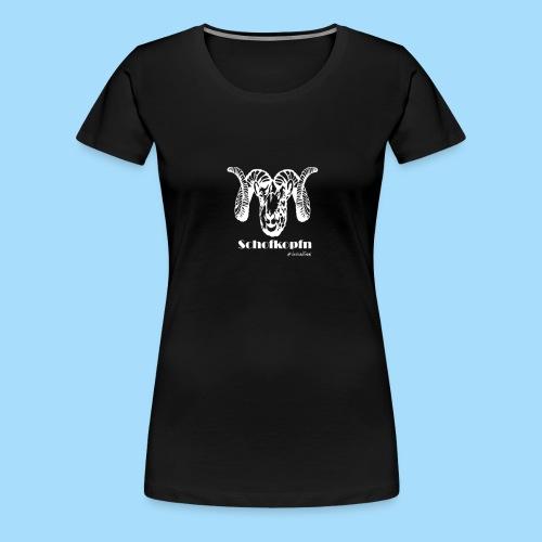 Schofkopfn - Frauen Premium T-Shirt