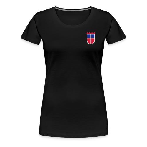 Sarre Wappen - Frauen Premium T-Shirt