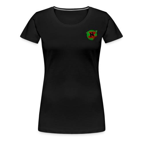Neko Zombie__Logo Oficial - Camiseta premium mujer