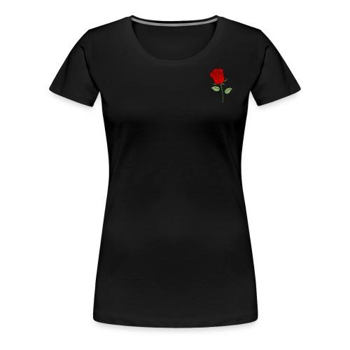 Red Rose - Vrouwen Premium T-shirt