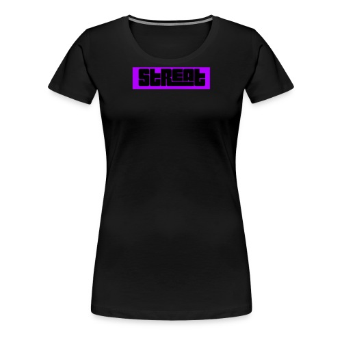 Streat Box Logo - Women's Premium T-Shirt
