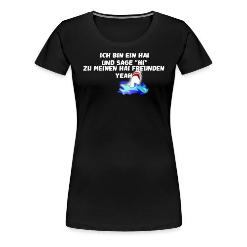 Hai Fisch png - Frauen Premium T-Shirt