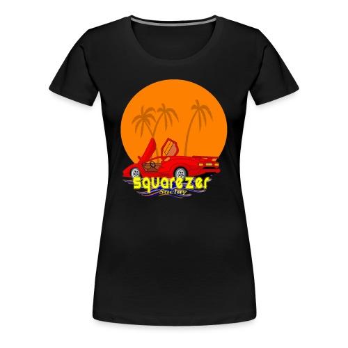 SaclayDrift - T-shirt Premium Femme