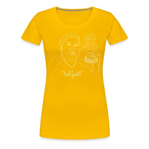Warm und lecker - Frauen Premium T-Shirt