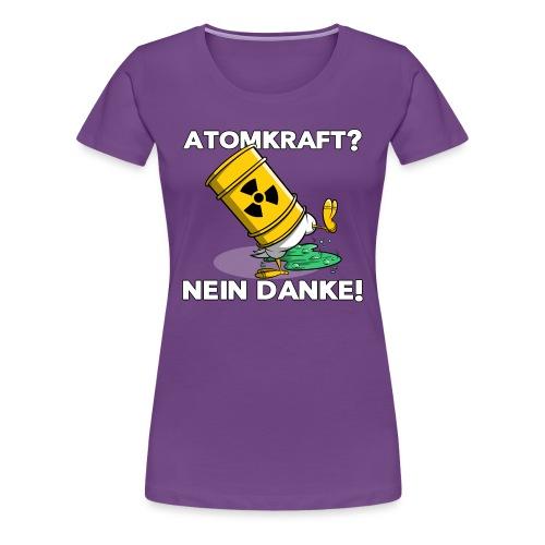 Atomkraft - Nein Danke - Frauen Premium T-Shirt