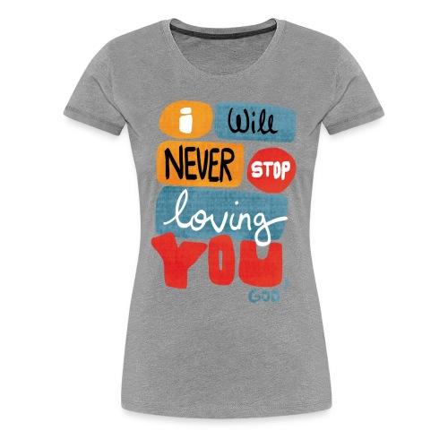 Love Maxime Lebrum - T-shirt Premium Femme