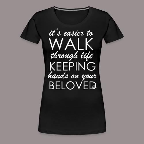 Rakkaus - Naisten premium t-paita