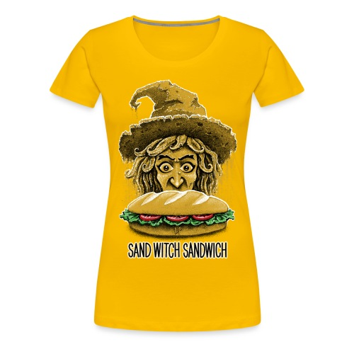Sand Witch Sandwich V1 - Women's Premium T-Shirt