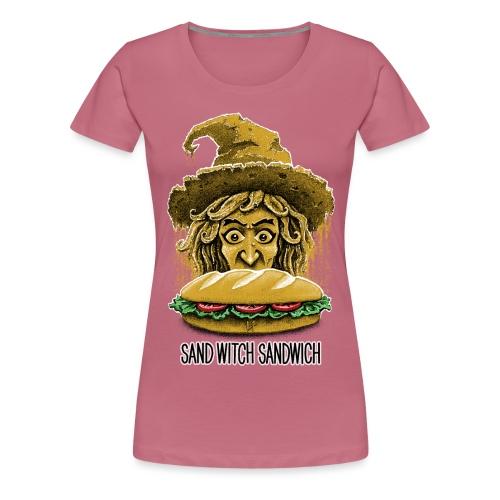 Sand Witch Sandwich V1 - Women's Premium T-Shirt