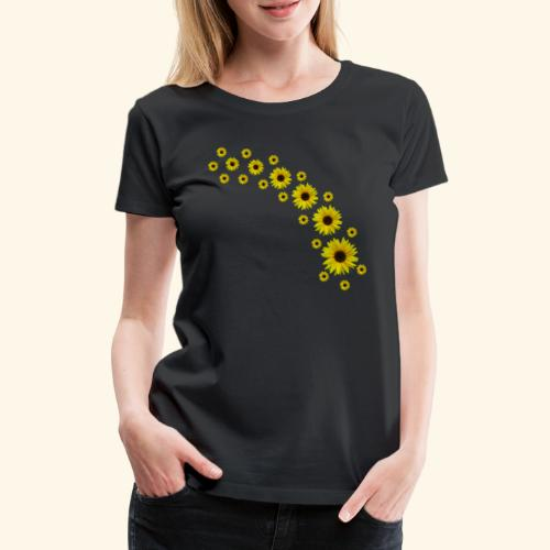 Sonnenblumen, Sonnenblume, Blumen - Frauen Premium T-Shirt