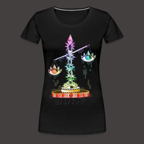 Balance multi-color - T-shirt Premium Femme
