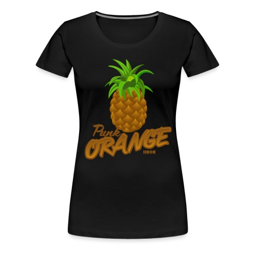 Pinapple or Punk - Premium-T-shirt dam