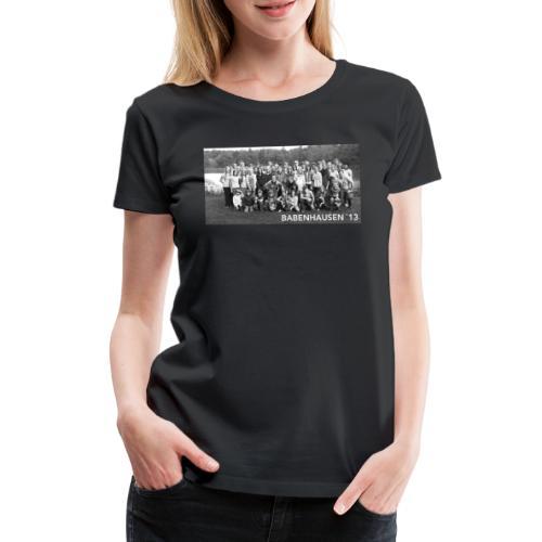 Babenhausen Gruppenfoto Zeltlager - Frauen Premium T-Shirt