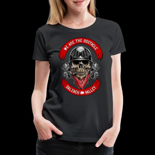 We are the Obstacle - Frauen Premium T-Shirt