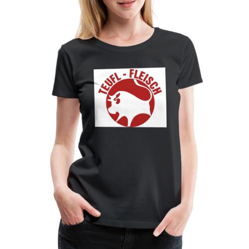Teufl-Fleisch - Frauen Premium T-Shirt