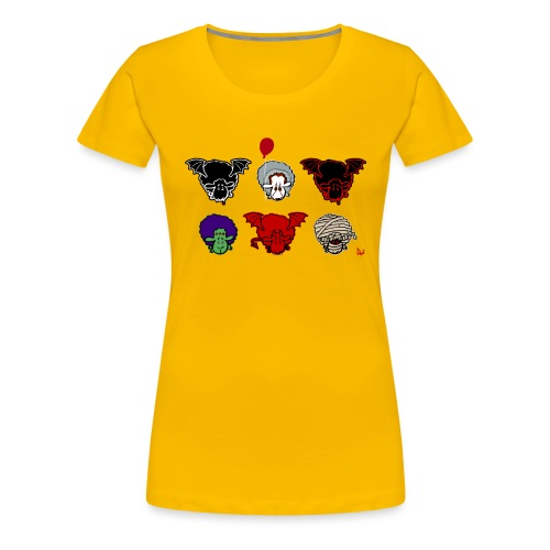Moutons Creepers - T-shirt Premium Femme
