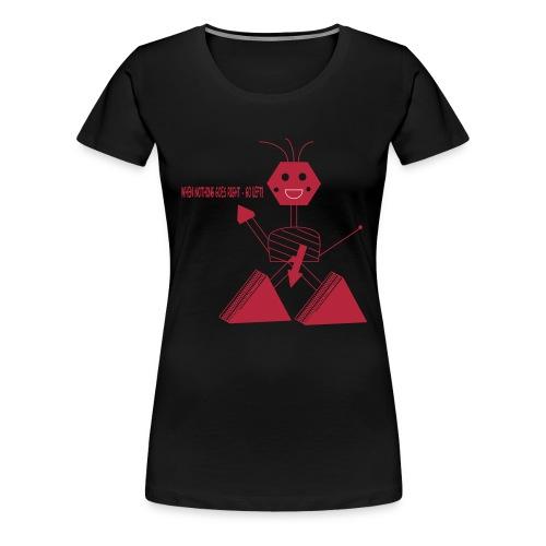 Roboter - Frauen Premium T-Shirt