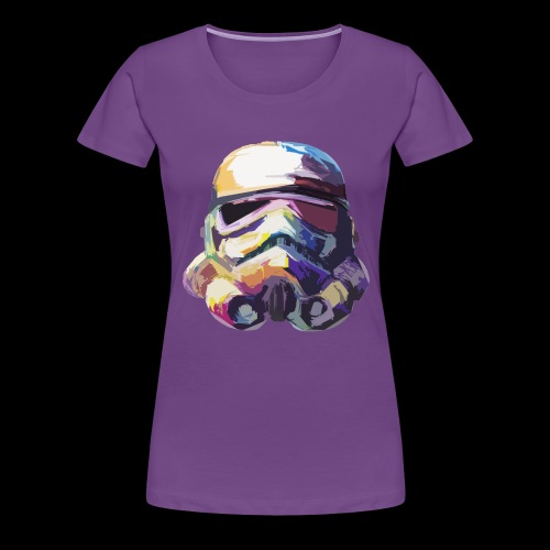 Stormtrooper with Hope - Women's Premium T-Shirt