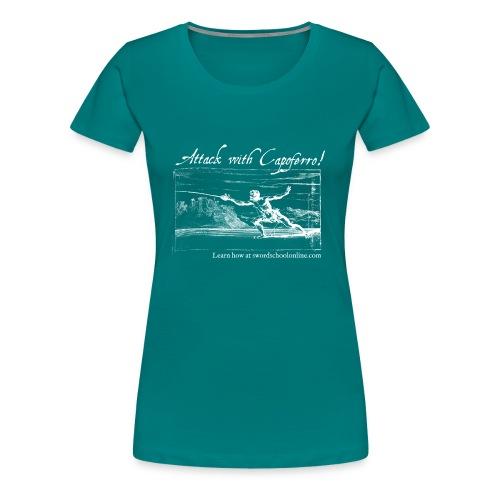 Attack with Capoferro! - Women's Premium T-Shirt