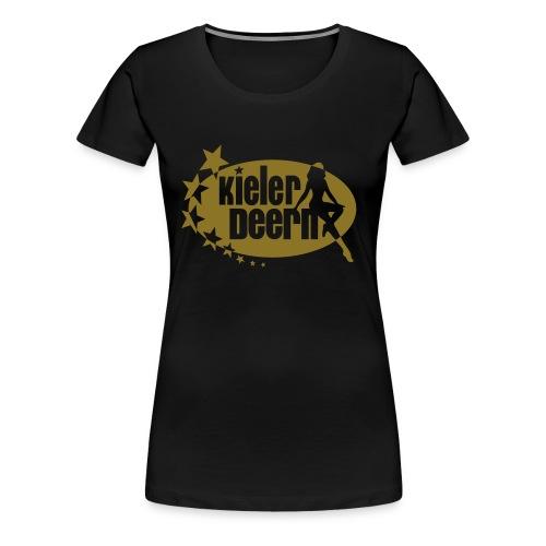 disco deern - Frauen Premium T-Shirt