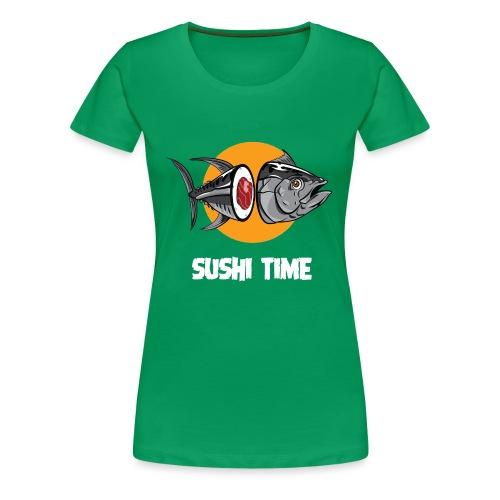 SUSHI TIME-tonno-b - Maglietta Premium da donna